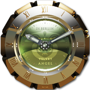 Velvet Angel clock widget