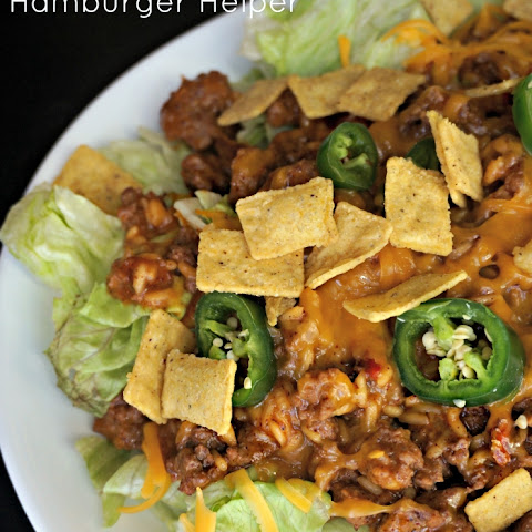 Cheesy Taco Salad Hamburger Helper®