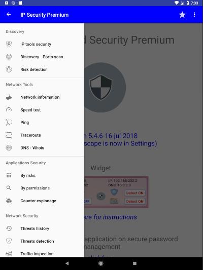 IP Tools and Security Premium Screenshot 0