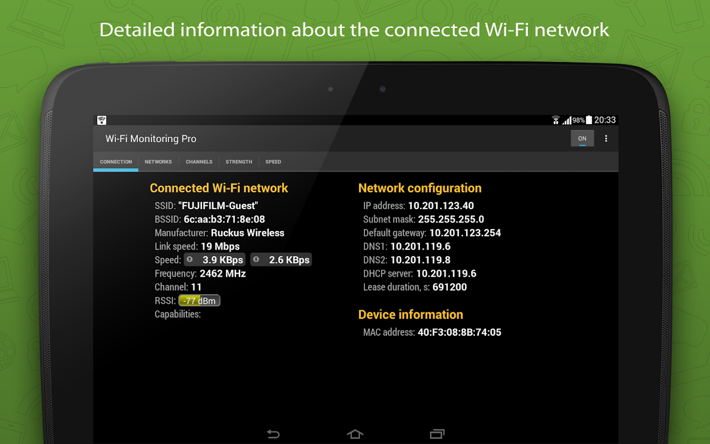 WiFi Monitor Pro Screenshot 5