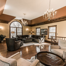 Family Home by Nan Oliver - Buildings & Architecture Homes ( home, for sale, real estate, house, family room )