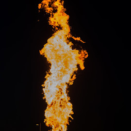 Blow Torch by Colin Toone - Abstract Fire & Fireworks ( explosion, propane, truck, fire, tanker, accident )