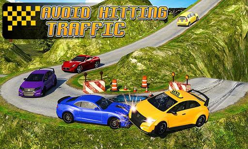 Taxi Driver 3D : Hill Station screenshot 5