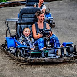 Street racing by Rich Kapple - People Family ( KidsOfSummer )