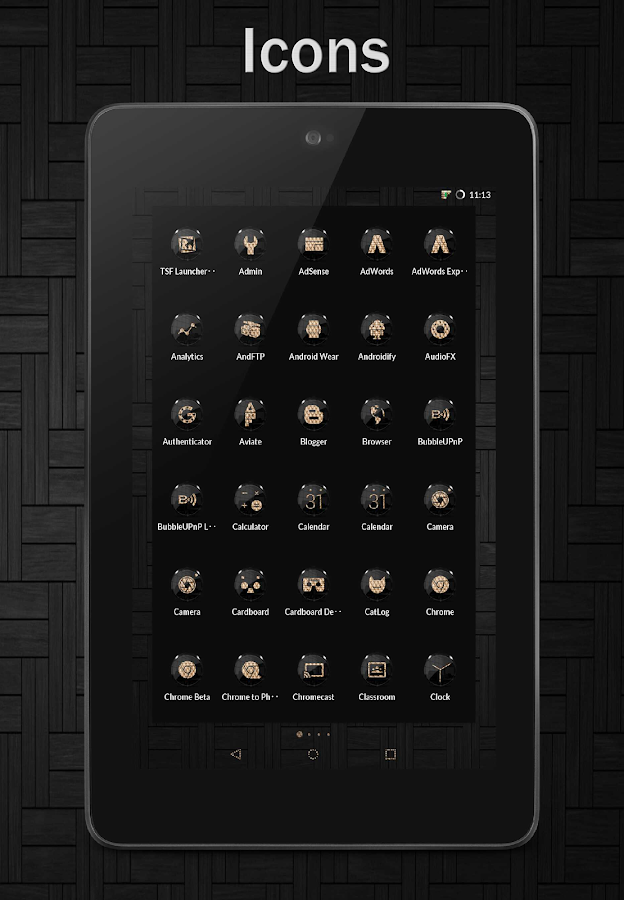 Black Gold CM12 CM13 Screenshot 10
