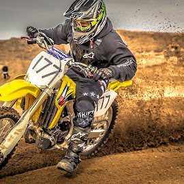 Motocross by Thomas Dilworth - Sports & Fitness Motorsports ( colorado springs, aztec raceway, motocross, moto, racing )