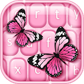 App Pink Butterfly Keyboard APK for Windows Phone