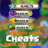 Cheats for Dragon City - prank