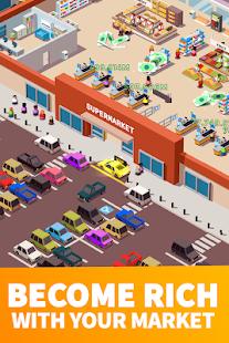 Idle Supermarket Tycoon - Tiny Shop Game