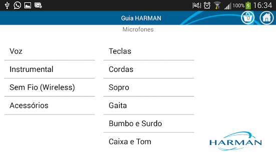 Guia HARMAN - screenshot