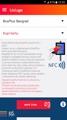 mts centar Screenshot