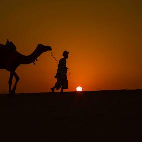 Lets go home by Monish Kumar - Landscapes Sunsets & Sunrises