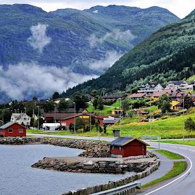 Fjord ambient by Francis Xavier Camilleri - City,  Street & Park  Vistas