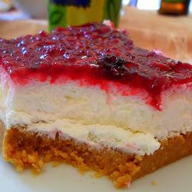 Cheese cake by Pahomijeva Sekretarica - Food & Drink Candy & Dessert