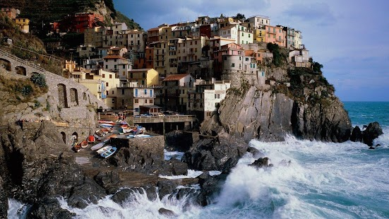 Italy landscapes. Manarola - screenshot