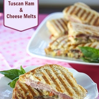 Tuscan Ham & Cheese Melts