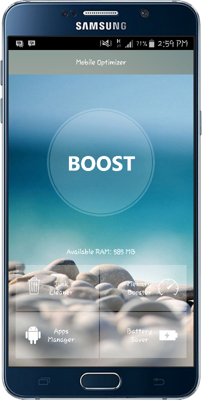 Mobile Optimizer PRO Screenshot 0