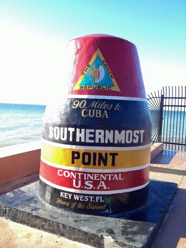 The southernmost point in the continental USA.