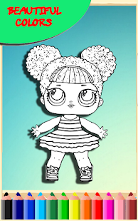 How To Color Lol Surprise Doll Coloring Game Apk By