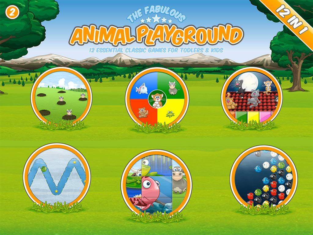 The fabulous Animal Playground Screenshot 1