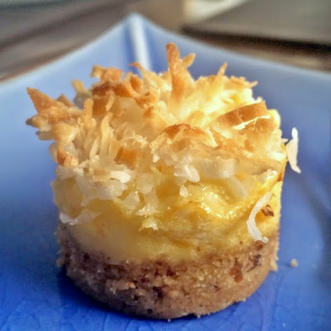 Coconut Pineapple Cheesecake (Minis)