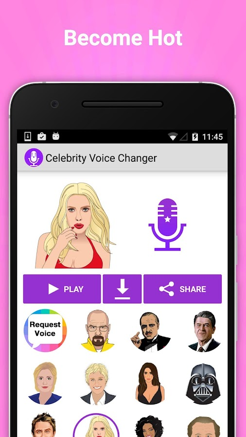 Celebrity Voice Changer Fun FX Screenshot 3