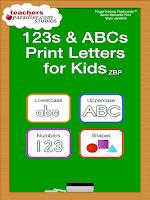 Screenshot of 123s ABCs Kids Handwriting ZBP