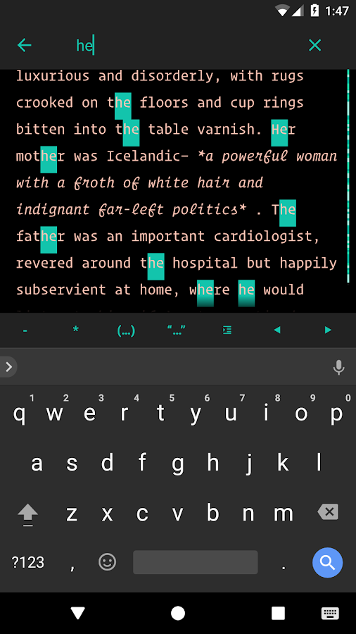 JotterPad (Write On-The-Go) Screenshot 4