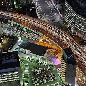 Ikebukuro by Ketut Pujantara - City,  Street & Park  Street Scenes ( ikebukuro, night scene, street, high way, sunshine ikebukuro )