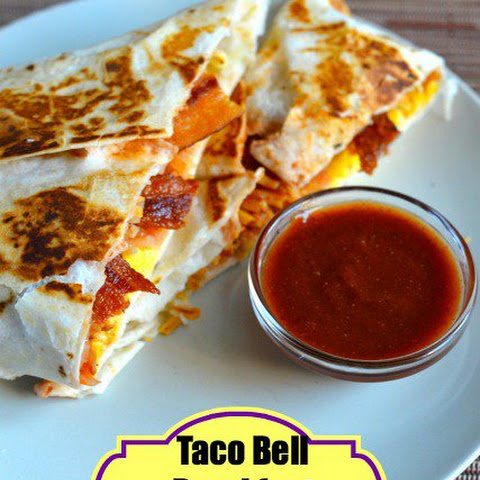 Taco Bell Breakfast Crunch Wrap