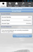 Screenshot of Rogue Credit Union