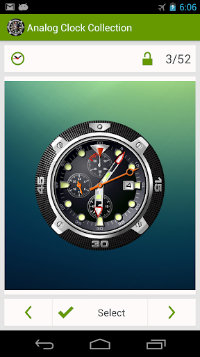 Analog Clock Wallpaper/Widget screenshot 8