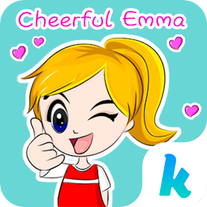 Kika Pro Cheerful Emma Sticker