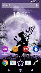 Fairy Theme - screenshot