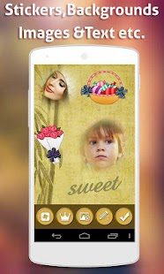 Photo Cut Paste Blend Stickers - screenshot
