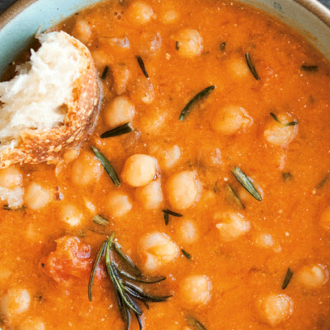 Chickpea and Roasted Tomato Soup