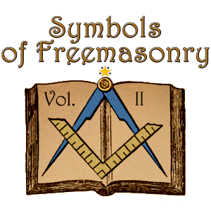 Cover art Symbols of masonry Vol. II