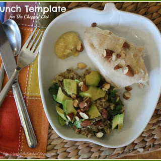Lunch Template for The Chopped Diet