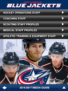 App Columbus Blue Jackets APK for Windows Phone | Android games ...