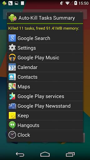 Task Manager (Task Killer) screenshot 6