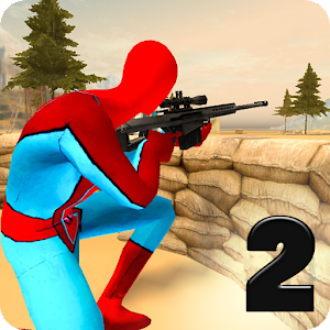 Download Spider vs Gangster Sniper II for PC