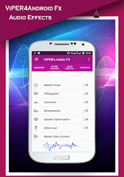 ViPER4Android Fx 2017 - Sound Equalizer APK screenshot thumbnail 1