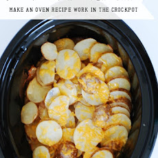 Au Gratin Potatoes in the Slow Cooker - Make an Oven Recipe Work in the Crockpot