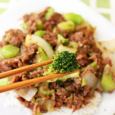 10 Minute Beef with Broccoli