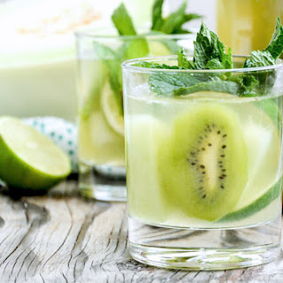 Honeydew and Kiwi White Sangria