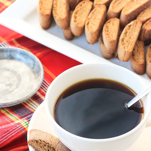 Mini Gingerbread Chai Biscotti
