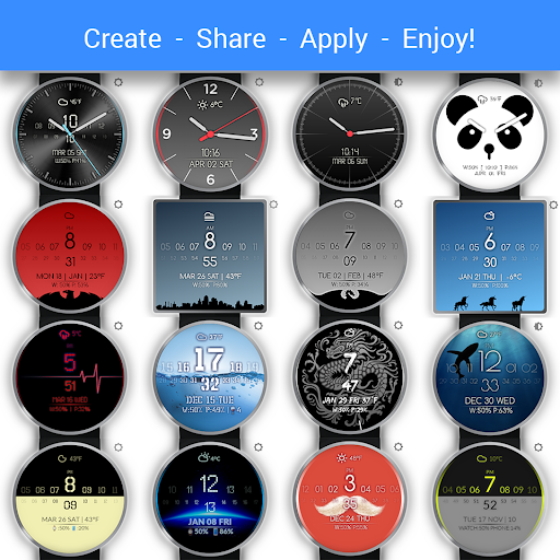 Watch Face - Minimal & Elegant - screenshot