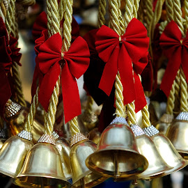 Bells by Tridibesh Indu - Artistic Objects Other Objects ( bell, colourful, faridabad, bells, surajkund_mela, india, surajkund, bow, delhi, colours )