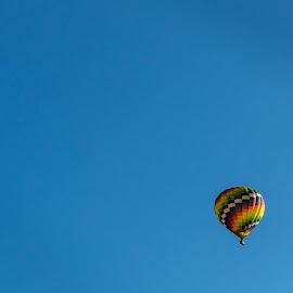 Let's Fly to Moon by Rananjay Kumar - Transportation Other ( #balloon, #outdoor, #hotairballoon, #sky, #canon, #moon )