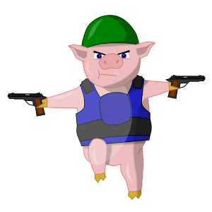 War Piggy: Jetpack Pig Warrior